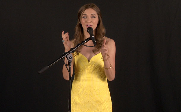 """Alyson Stoner Gives Exclusive In-Studio Performance of New Single """"Woman"""""""