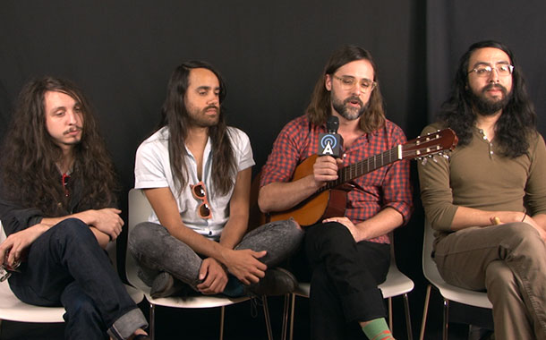 """The Bright Light Social Hour Performs """"Sea of the Edge,"""" Talks Early-Career Struggles"""
